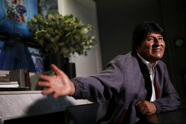 Evo Morales Says the U.S. Offered Him Plane to Leave Bolivia