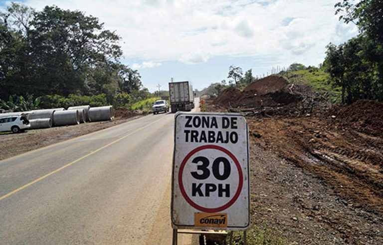 Route to Limón Would Be Ready in March 2021