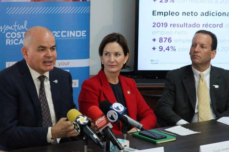 Costa Rica Announces Record of 16,718 New Jobs through FDI in 2019