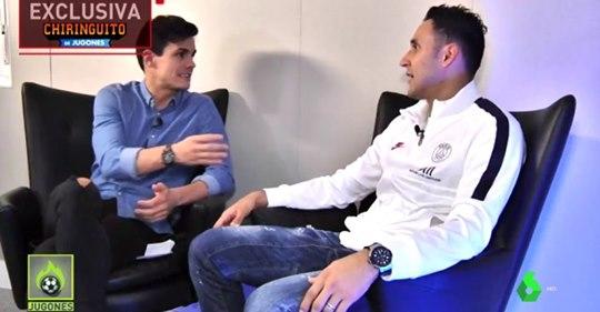 Keylor Navas reveals that he will live in Spain after retiremenet
