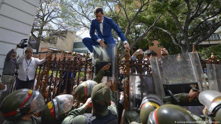 Venezuela opposition denounces 'parliamentary coup'