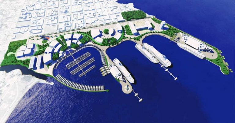 Private companies promote megaworks that governments postponed for years
