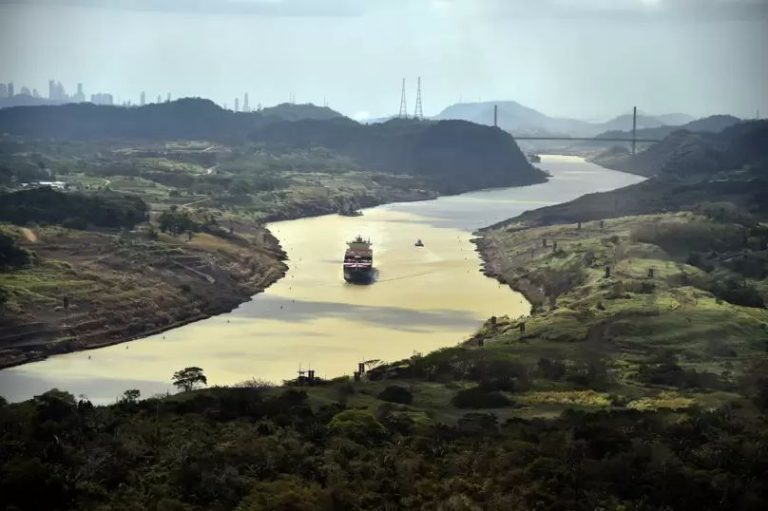 The Panama Canal is running out of water