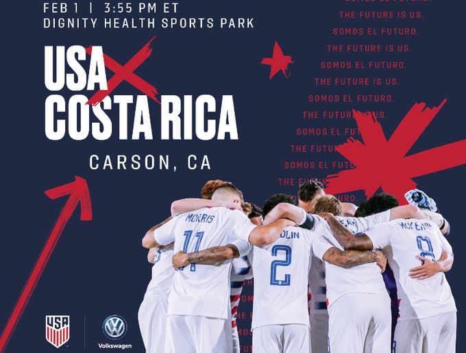 Following  January Camp in Qatar, the USMNT will kick off 2020 vs. Costa Rica on Feb. 1 in California
