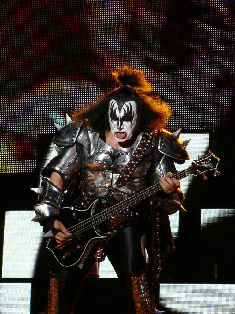 Gene Simmons, the demon of Kiss: Rock is dead because fans don't pay for it