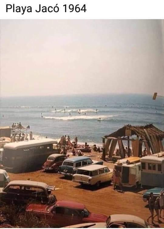 Playa Jacó 1964
