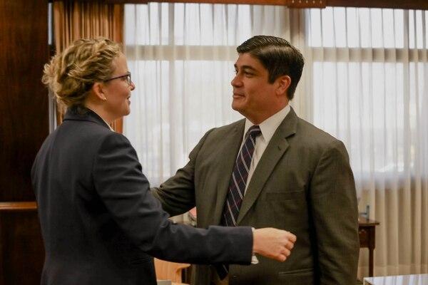 President Carlos Alvarado is criminally denounced for the creation of UPAD