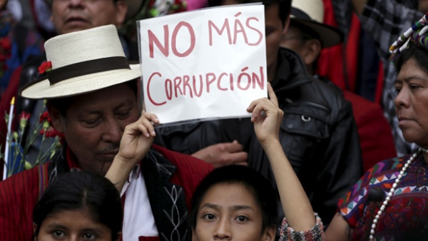 Graft-busting goes into reverse in Central America