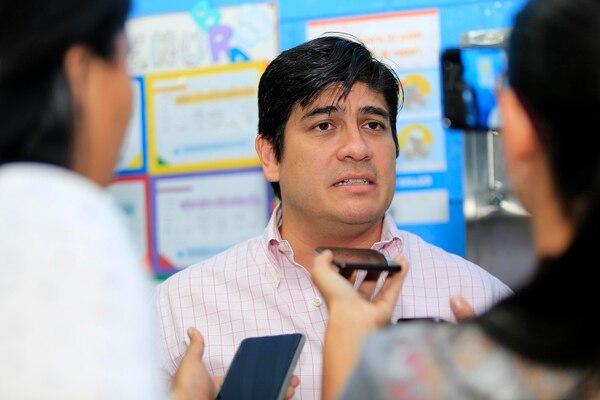"""Puntarenas declares President Carlos Alvarado """"persona non grata"""""""