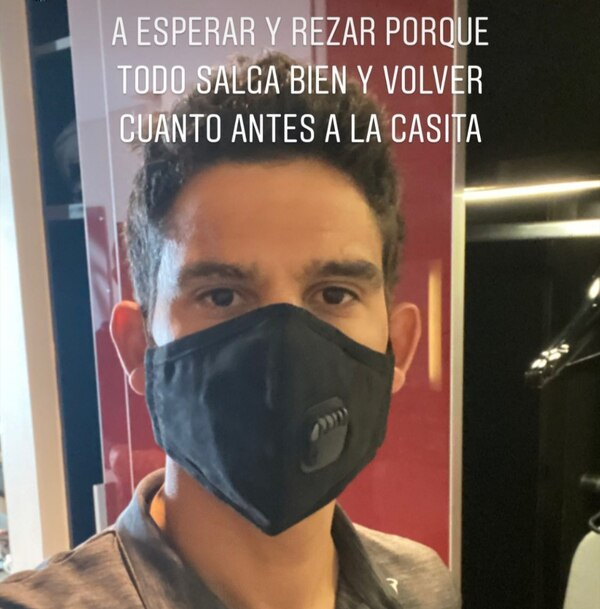 Coronavirus forces Costa Rica Cyclist Andrey Amador and other members of the cycling group to isolate themselves in a hotel