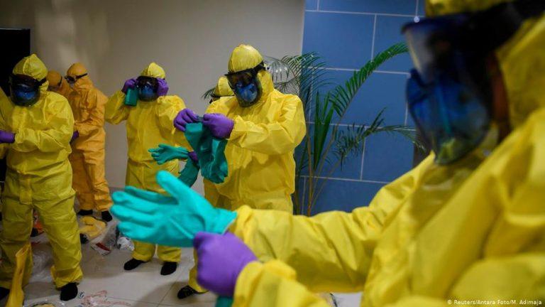 Coronavirus: World is in 'uncharted territory'