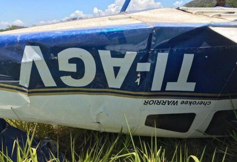 Studen Pilot Crashes In Tambor