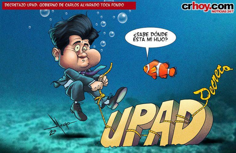 UPAD: Government of Carlos Alvarado Sinks To Bottom