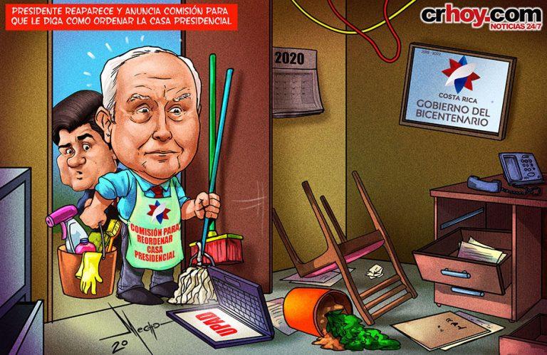 President Alvarado Turns To Mendez To Clean The Mess At Casa Presidencial