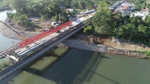 New bridge between Costa Rica and Panama making progress: at 72%