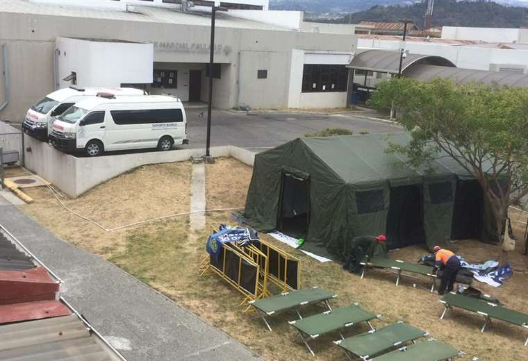 M*A*S*H (Mobile Army Surgical Hospital) Go Up At San Jose Hospitals