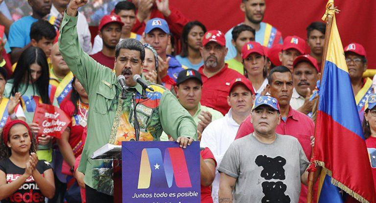 Venezuelan FM Blasts US For 'Desperate' Charges Against Maduro