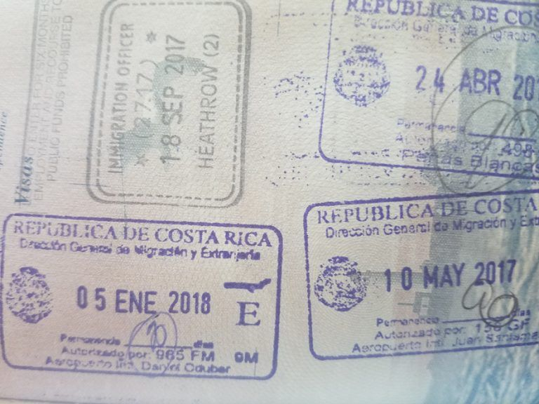 Petition to extend Costa Rica visitor visa from 90 to 180 days