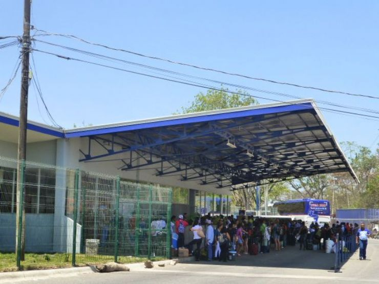 Costa Rica reinforces security at the northern border with Nicaragua