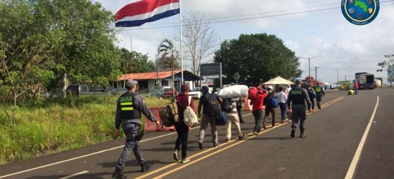 176 Nicaraguans were rejected at the Las Tablillas border post in the last 24 hours