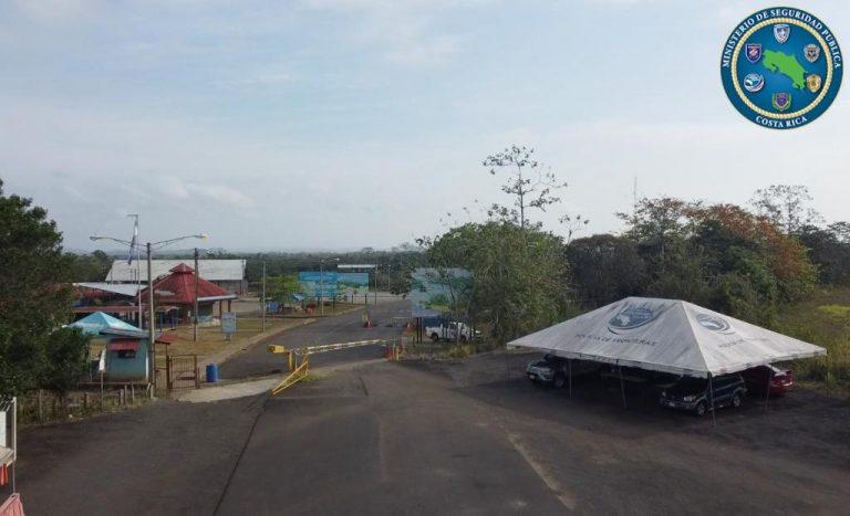 Costa Rica installs an air base at Nicaragua border