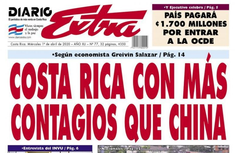 What's Up With This From The Diario Extra?