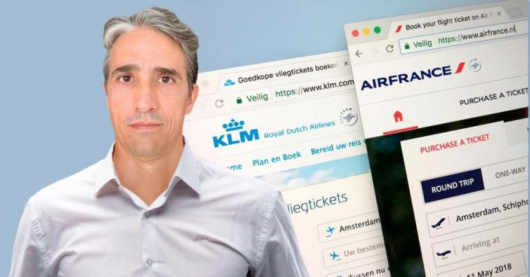 """Antoine Cros, Air France-KLM: """"There will be an airfare war in September"""""""