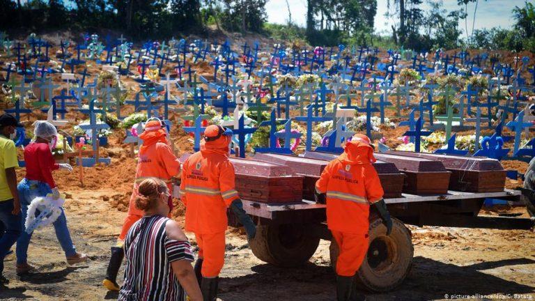Coronavirus pandemic: Is Brazil the new epicenter?