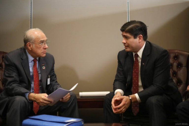 """""""We are the first Central American country to join the OECD! """", Announces Carlos Alvarado"""