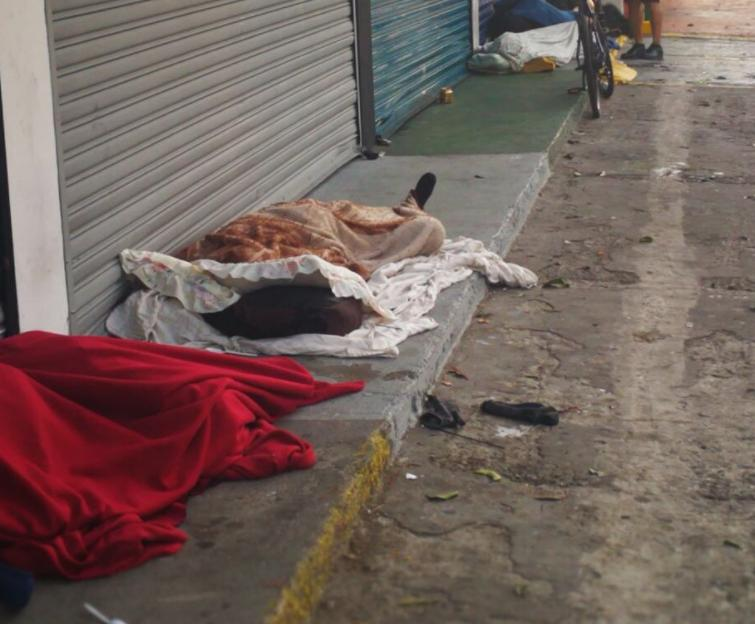 250 Homeless  in hostels by COVID-19