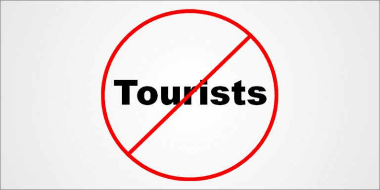 Tourist Ban Extended To June 30