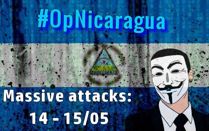 """""""This is just the beginning"""": Anonymous begins attack on Nicaragua institutions"""