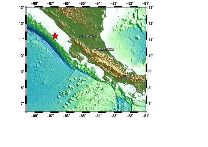 5.1 magnitude earthquake shakes Nicaragua