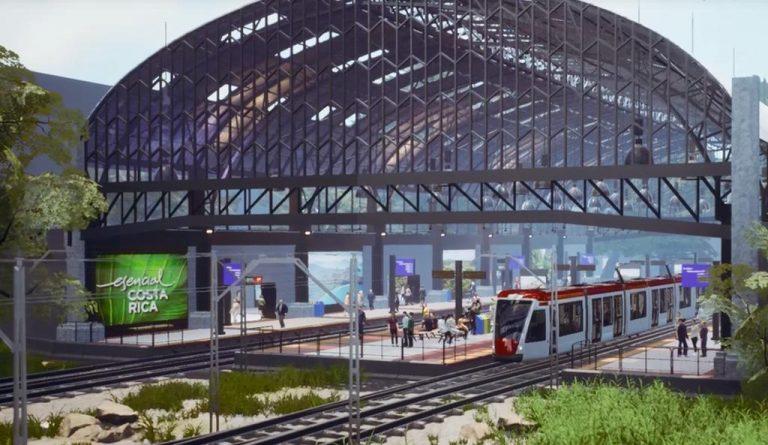 Electric Train Progresses in Costa Rica