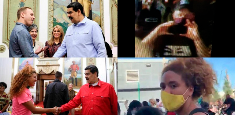 Maduro's Infiltrators Join Violent Protests in the U.S.