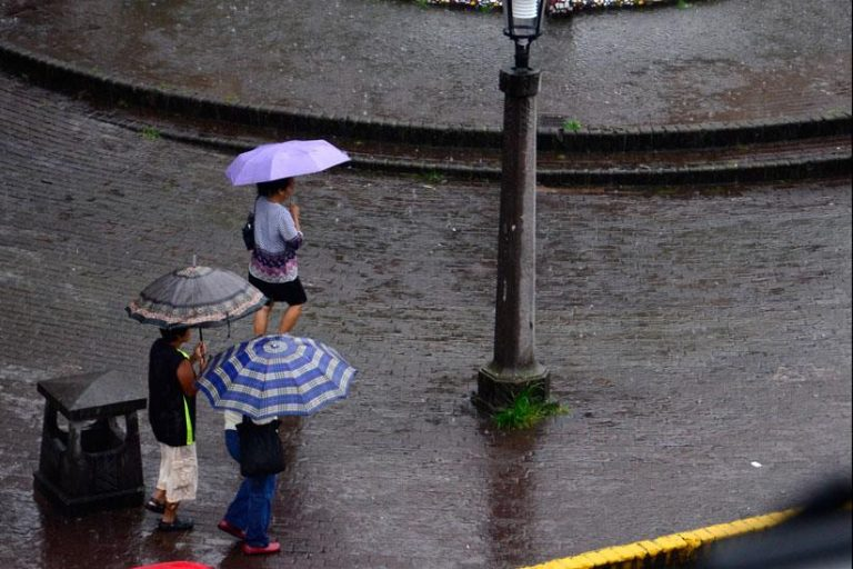Rains will be less intense this Tuesday
