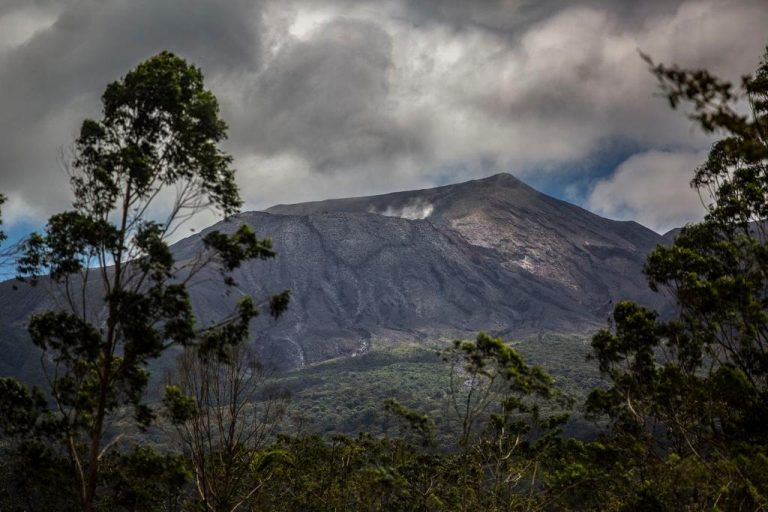 Clues to the impact of climate change may seep from a volcano in Costa Rica