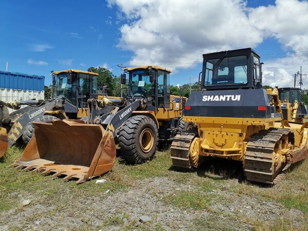 Chinese pull equipment from Ruta 32 to send to Jamaica