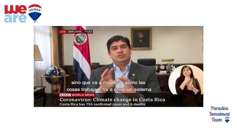 Costa Rica President Carlos Alvarado interviewed on BBC