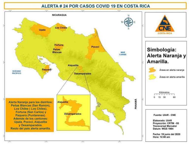 COVID-19 Costa Rica: 119 new cases in a single day!
