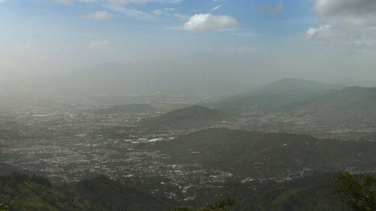 Sahara dust cloud drive the rains away in Costa Rica