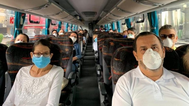 Wearing a mask will be mandatory when traveling by public transport