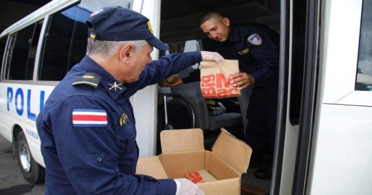 McDonald's donates ¢20 million in food to law enforcement officers
