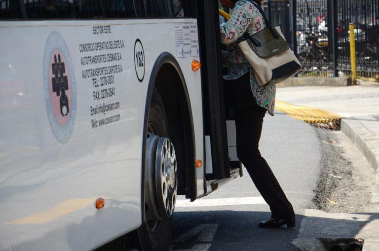 Use of masks mandatory at bus stops