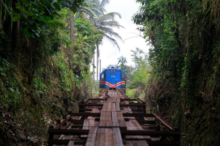 A modern freight train to the Atlantic?