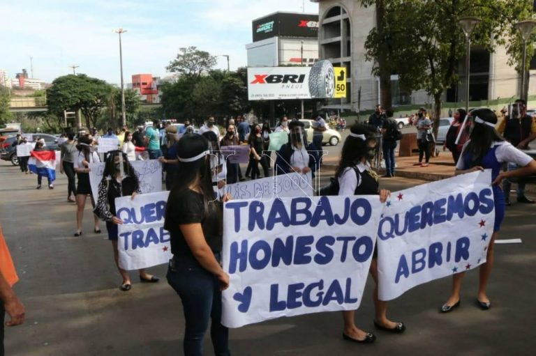Paraguay: Protesters Reject Heading Back To Quarantine