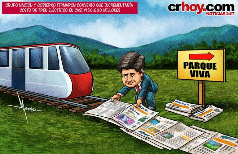 Nacion makes deal to have the train reach Parque Viva
