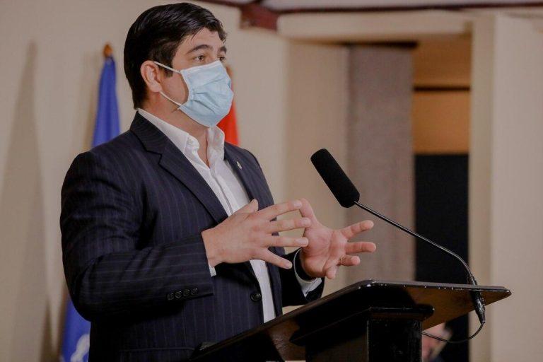 President Alvarado announced 15% pay cut of his cabinet