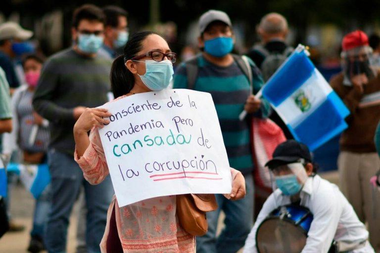 Pandemic accelerates democratic decline in Central America