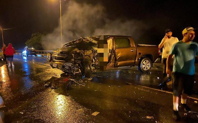 Driver walks away from head-on crash in Parrita